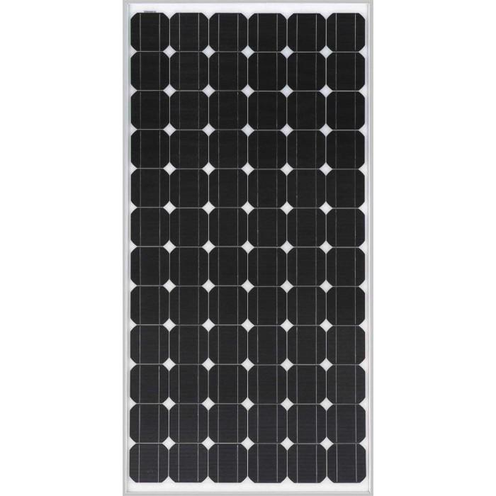 Flat 200 Watt Monocrystalline Solar Panel Home Of 12 Volt
