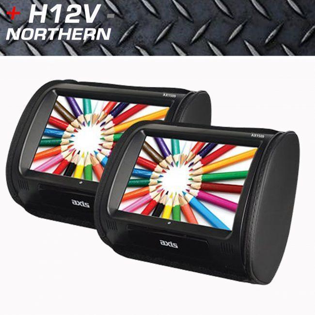 9 Inch Headrest Monitors