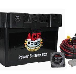ACE BATTERY BOX 2 X CIG MERIT AND USB WITH THUMPER VSR CHARGE KIT