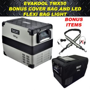 Evakool TMX50 with Cover and LED