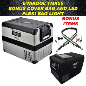Evakool TMX55 with Cover and Led