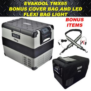 Evakool TMX65 with Cover and LED