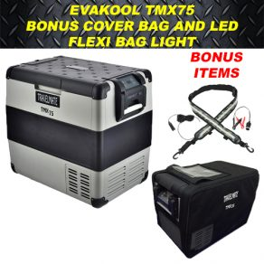 Evakool TMX75 with Cover and LED