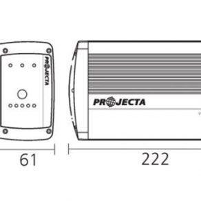 Projecta 15AMP Charger Dimensions