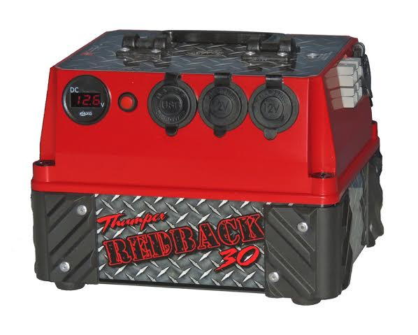 30 Ah Thumper Redback Battery Pack Home Of 12 Volt