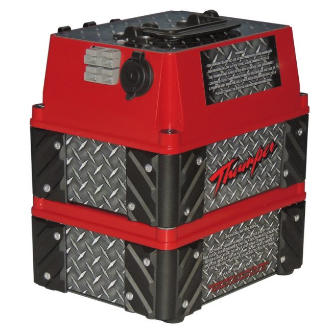 Thumper 48Amp Red pic 2