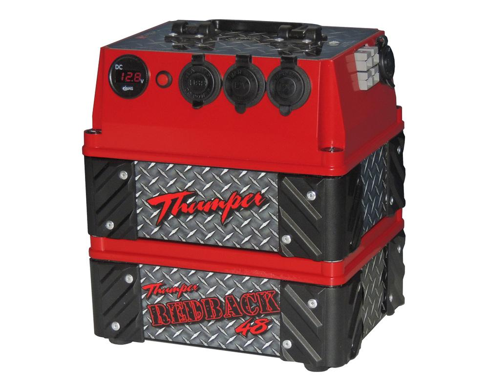 48 Ah Thumper Redback With Led Light Amp Dimmer Lead Home