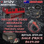 Thumper-60ah-Redback-with-Projecta-6Amp-Charger