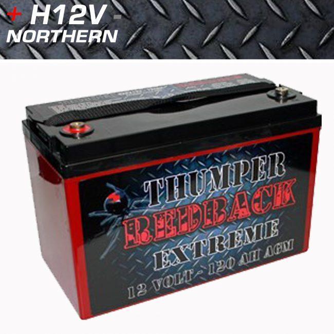 Thumper Redback 120ah Extreme KOUNTA
