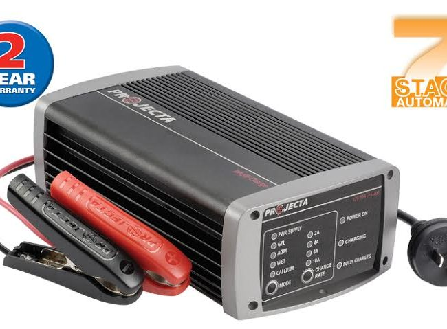 Projecta Intellicharge 10amp Battery Charger Home Of 12 Volt