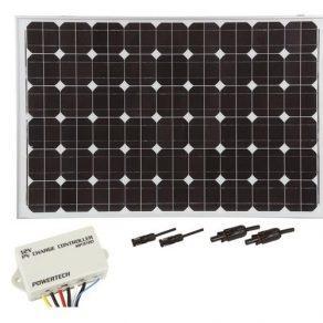 145 Watt Mono Solar Panel package Deal