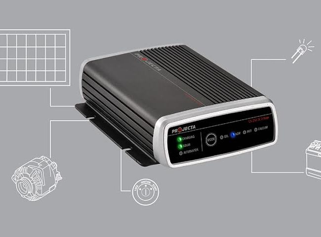 projecta idc25 solar    dc charger  u2013 home of 12 volt