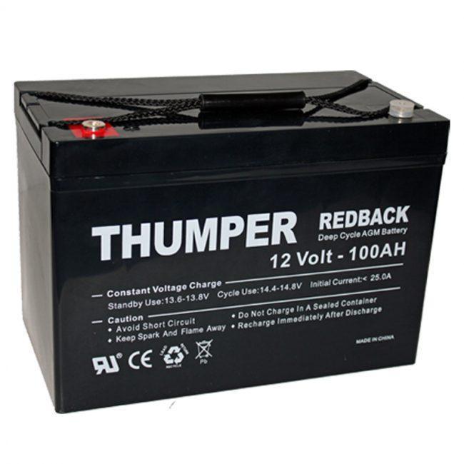 Thumper Redback 100ah