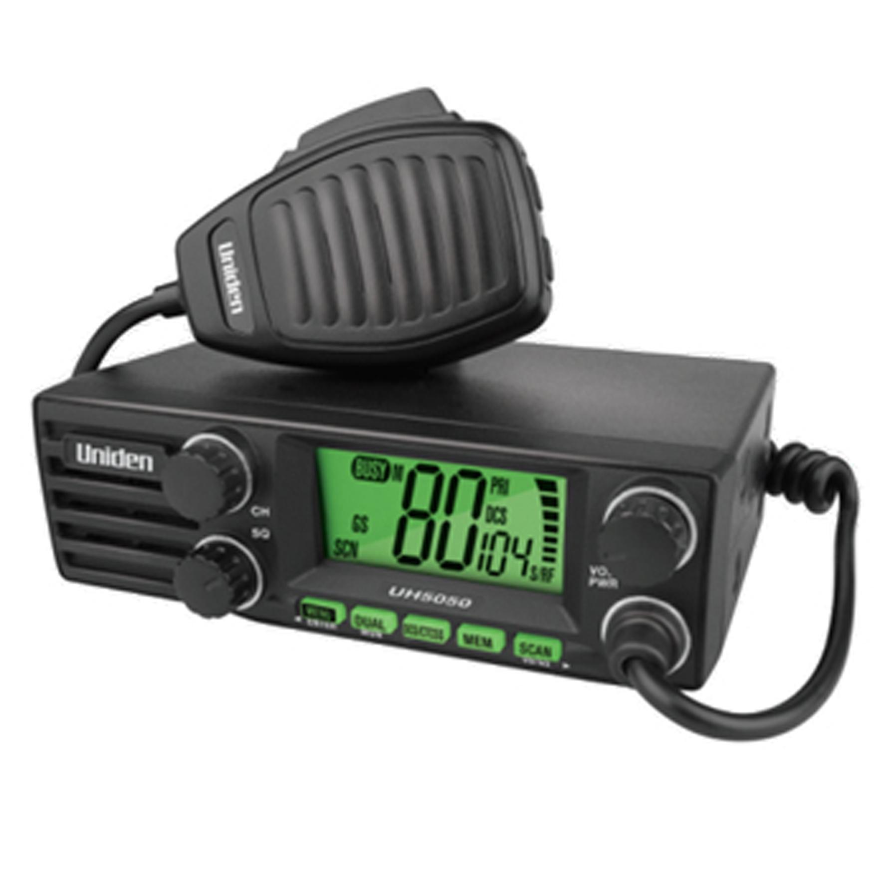 Uh5050 12v 24v Din Uhf Radio Home Of 12 Volt
