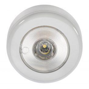 10 30 Volt 1W LED Courtesy Lamp with Off On Switch White Face Plate and Mounting Spacer