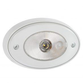 10 30 Volt 1W LED White Courtesy Lamp with Off On Switch and Mounting Spacer