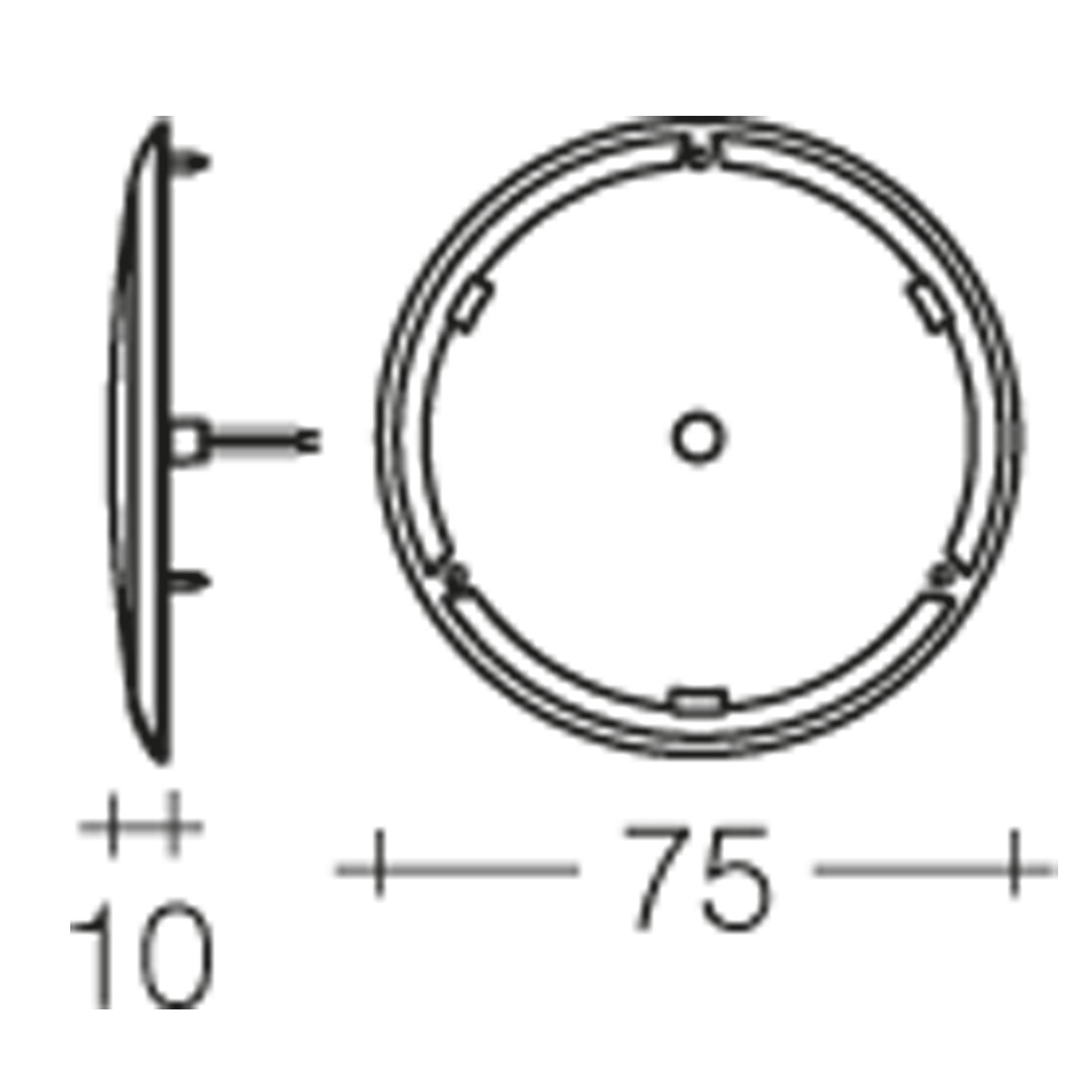 narva 12 volt saturn 75mm l e d interior lamp