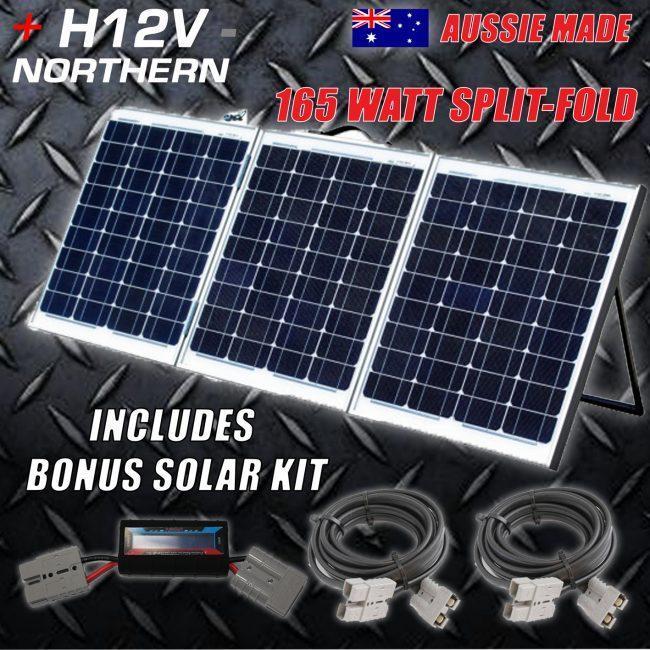 165 Watt Trifold Solar Panel