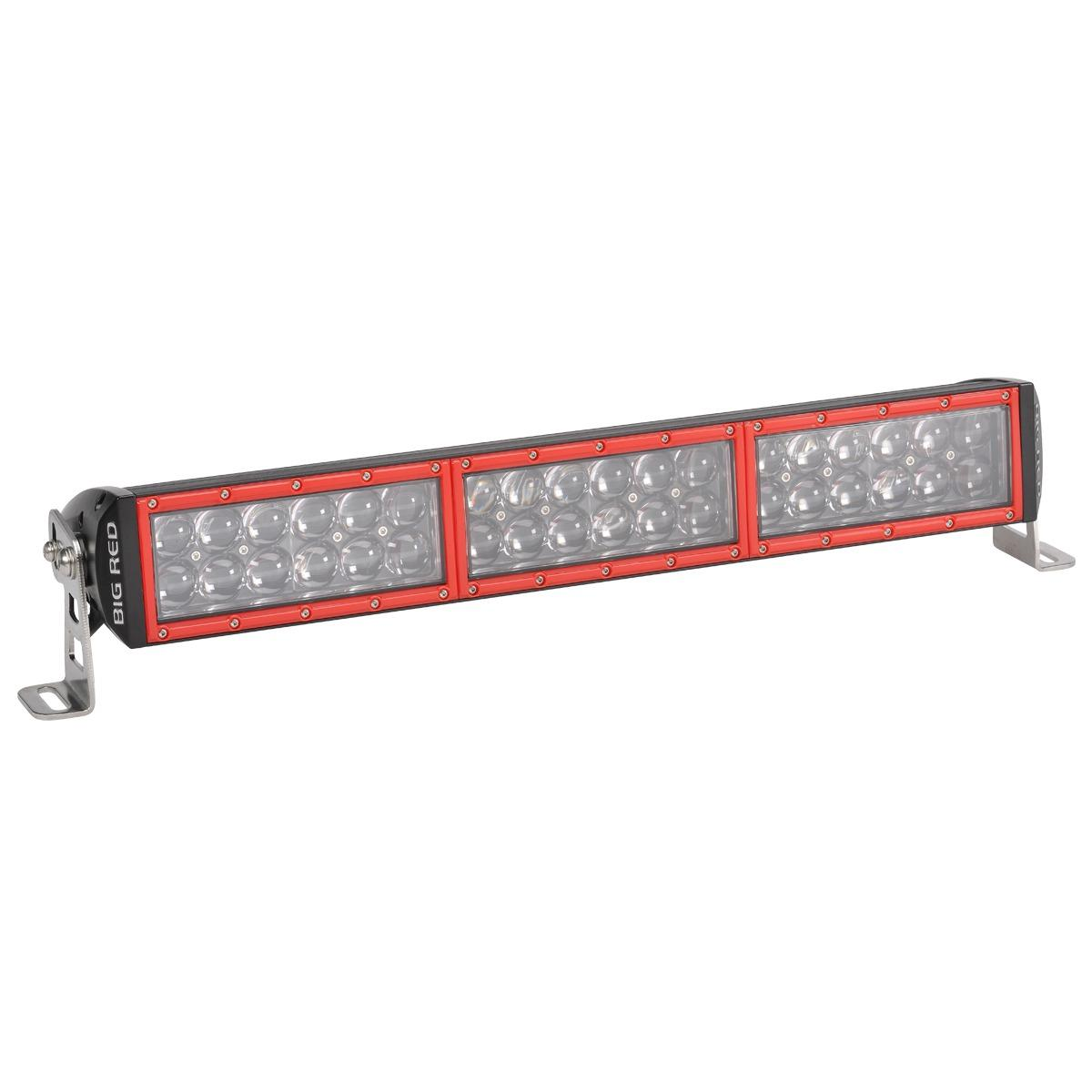 Big red driving light double row 20 180 watt bar home of 12 volt aloadofball Image collections