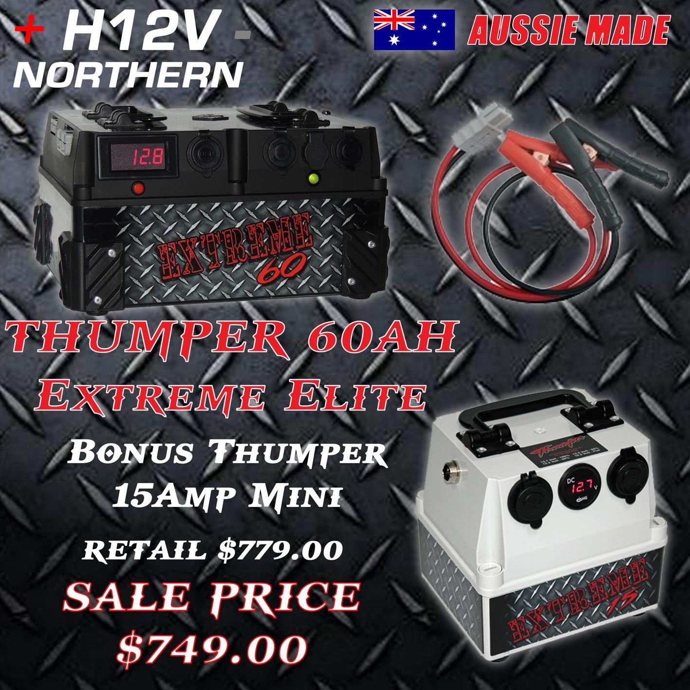 Thumper-60ah-Elite-with-Thumper-Mini-Mate-15