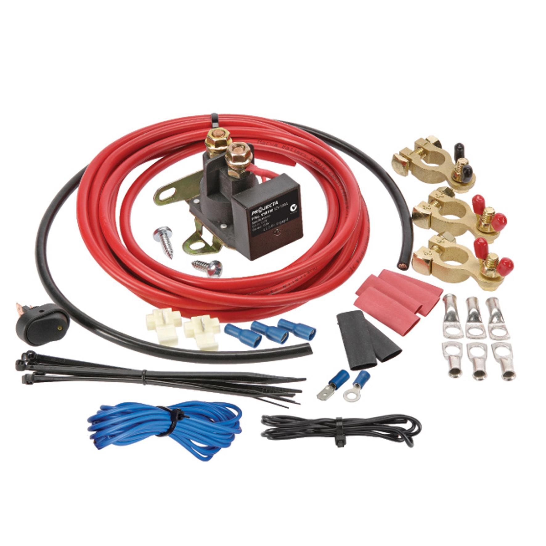 12v 100a Voltage Sensitive Relay Kit