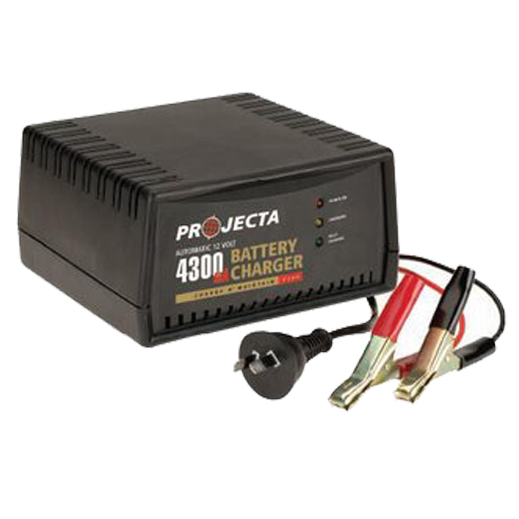 How To Charge A Car Battery Without A Charger >> Projecta AC600 Battery Charger | Home of 12 volt