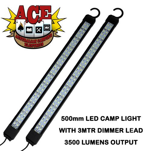 Ace 500mm Led Camp Light Twin Pack Home Of 12 Volt Northern