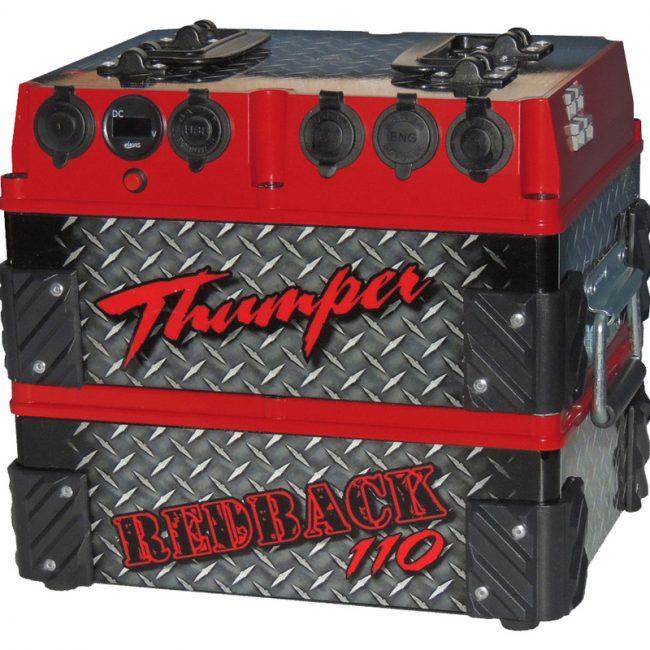 thumper-110ah-red