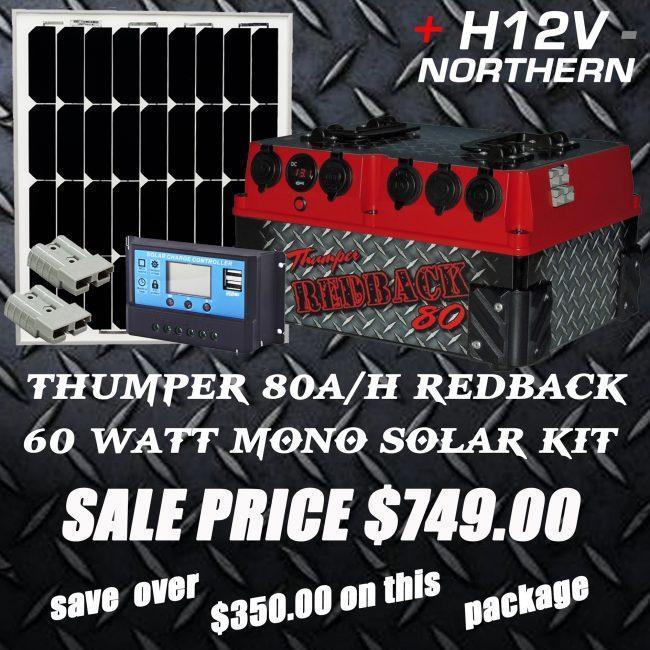 thumper-80ah-redback-with-60-watt-mono-solar-panel-package