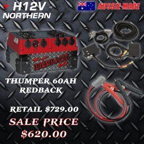 Thumper-60ah-Redback-Mega-Sale