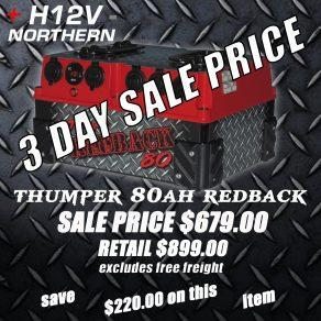 thumper-80ah-redback-3-day-sale