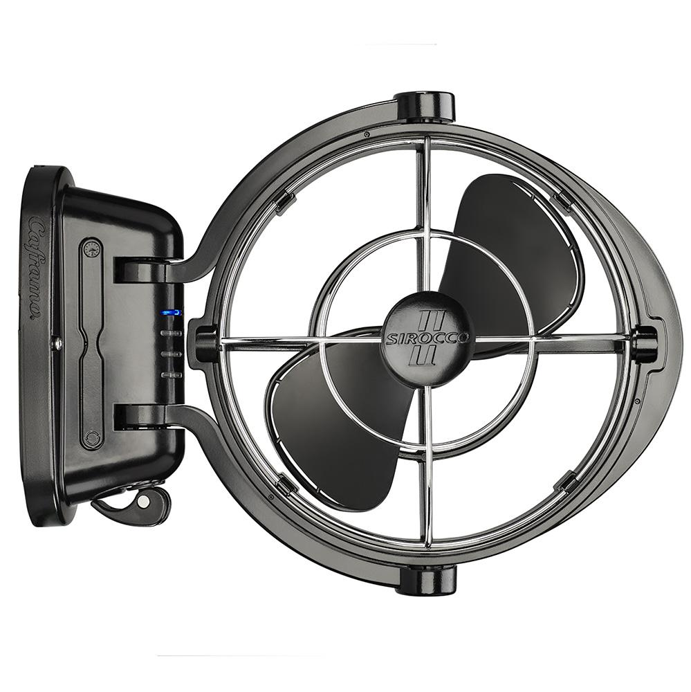 12 Volt Fans For Rv : Sirroco v black fan home of volt