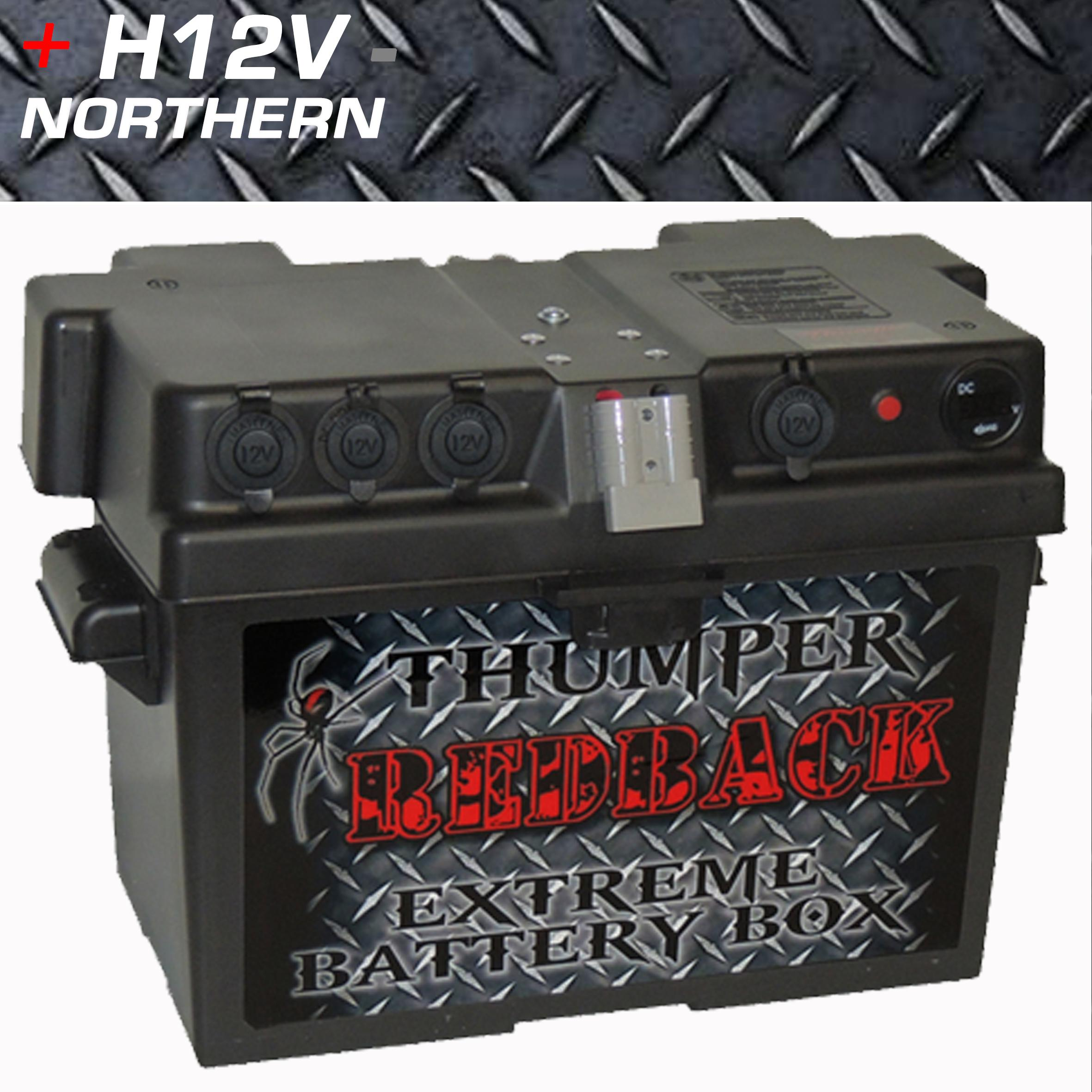 Thumper Battery Box 4 X Cigarette 2 X 50 Amp Anderson