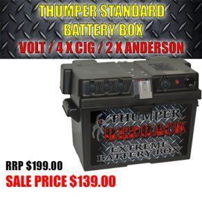 Thumper Standard Batter Box Volt / 4x CIG / 2x Anderson