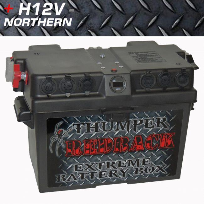 Thumper Redback Exreme Battery Box
