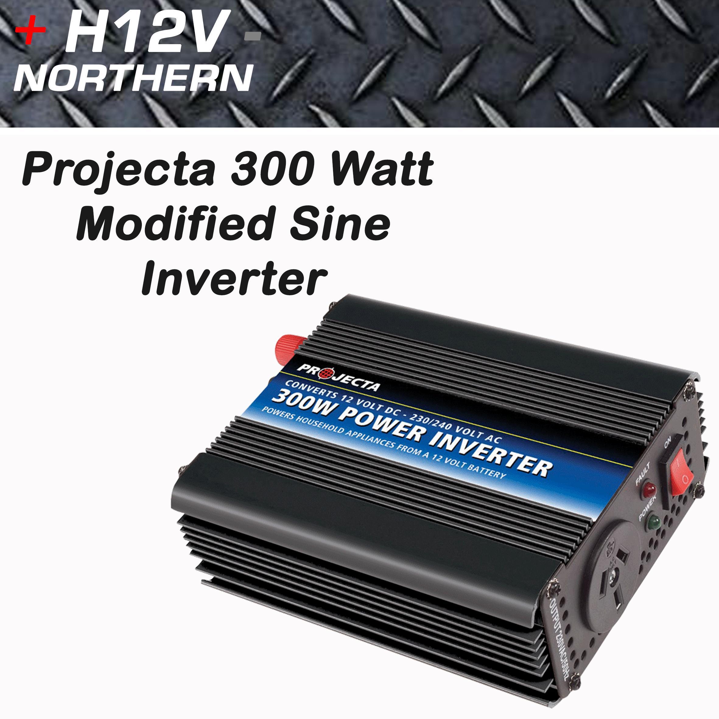 Projecta 300 Watt Modified Sine Inverter Home Of 12 Volt Dc To Ac Power