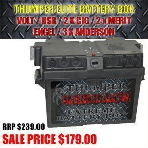 Thumper Elie 2x Cig 2x Merit Engel USB