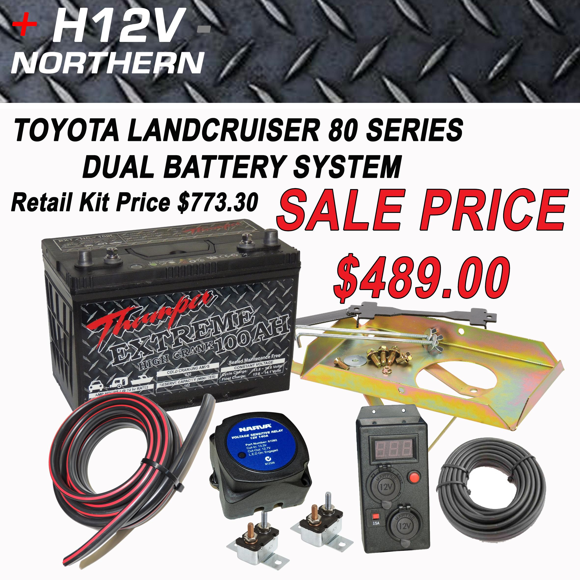 Toyota Landcruiser 80 Series Dual Battery System Home Of