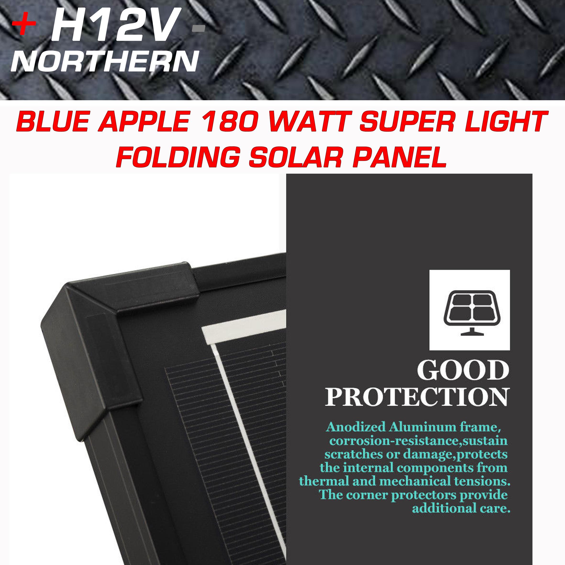 Blue Apple 180 Watt Super Thin Portable Split Fold Panel