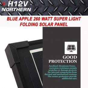 BLUE APPLE 260w SUPER THIN SOLAR PANEL