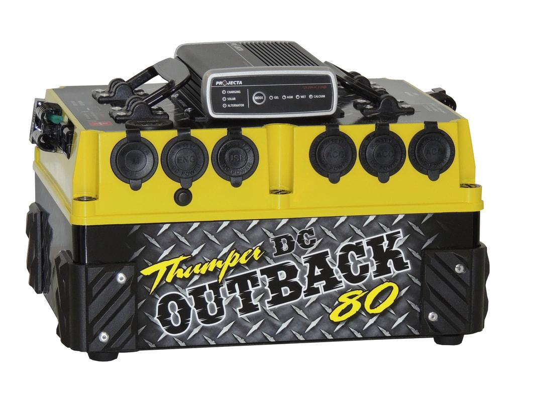 THUMPER OUTBACK 80AH DC-DC
