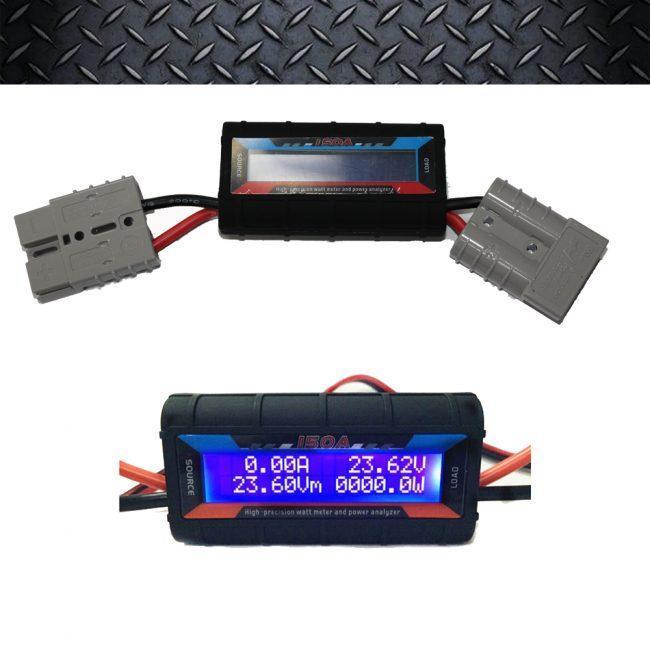 Inline Volt Amp Watt Meter