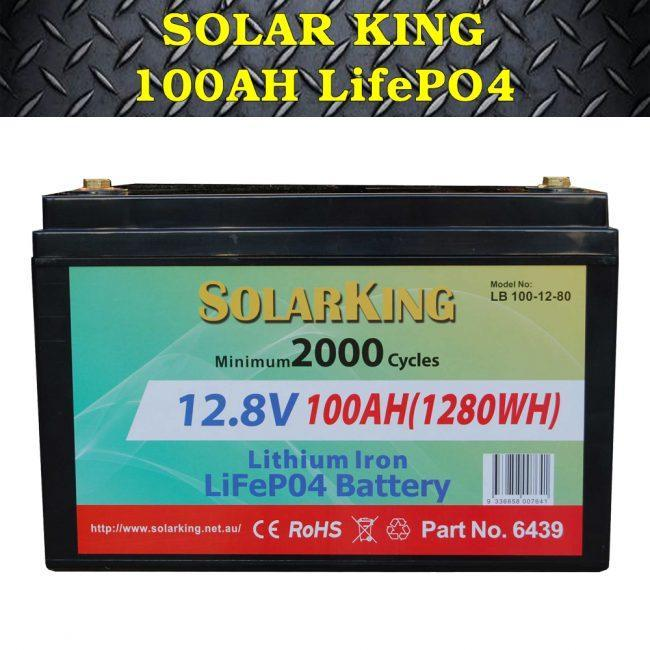 Solar King 100ah LifePO4