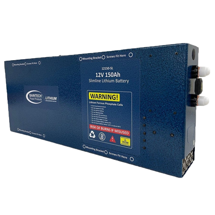 150Ah Slimline Lithium Battery image 2