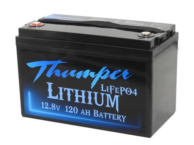 Thumper 120Amp Lithium